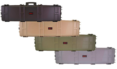 """Nuprol XL Large Rifle Hard Gun Case 53"""" Wave Or Pick And Pluck Foam- Airsoft • 99.99£"""