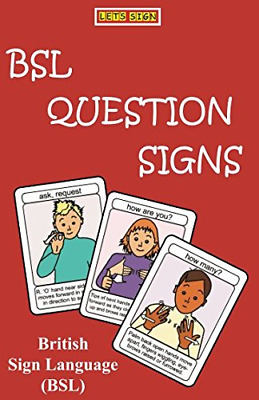 £8.10 • Buy BSL QUESTION SIGNS: British Sign Language LET'S SIGN BSL