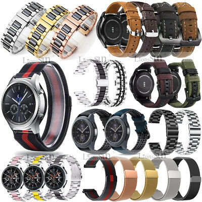 AU7.89 • Buy For Samsung Watch 46mm/Gear S3/Sport/S2 Classic Stainless Milanese/Leather Band