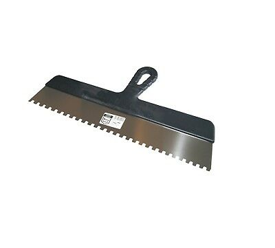 Wide Glue Adhesive Spreader 450mm (18 ) Notch 8 X 8mm Stainless Notched Spatula  • 7.50£