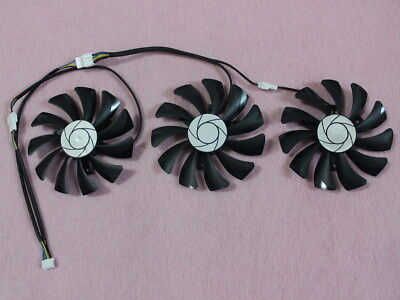 $ CDN25.52 • Buy 85mm MSI GTX 980 1060 1070 1080 Ti DUKE 6G / 8G / 11G Video Card Triple Fan R233