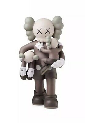 $1888.88 • Buy NEW IN HAND Kaws Clean Slate Brown Companion 14  Vinyl Toy 2018 Bff