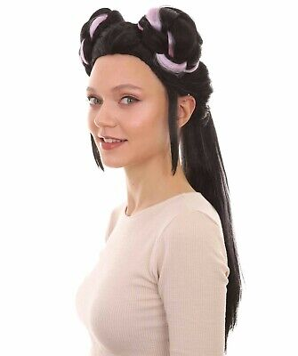 £23.97 • Buy Black Buns Wig Cosplay Netta Barzilai Eurovision Song Contest 2018 Party Costume