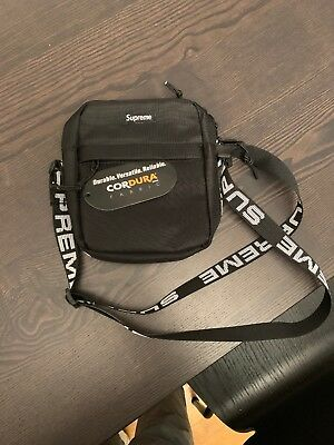 $ CDN255.71 • Buy Brand New SUPREME SS18 Shoulder Bag Black With Tags