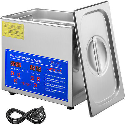 AU166.92 • Buy Ultrasonic Cleaner 3L New Stainless Steel Industry Heated Heater Timer