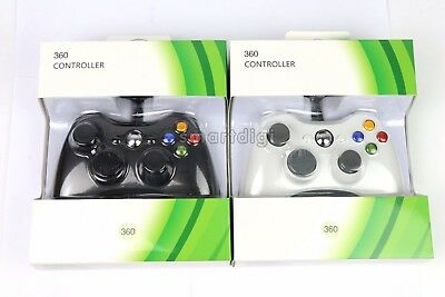 AU34.99 • Buy New Wired Gamepad Game Controller For Microsoft Xbox 360 Windows PC Game Console