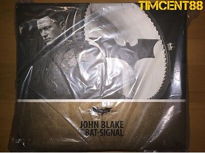 $ CDN527.61 • Buy Hot Toys MMS274 Batman The Dark Knight Rises TDKR 1/6 John Blake Bat Signal