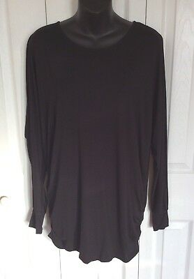 £14.15 • Buy The Nicole Richie Collection Womens Black Long Sleeve Blouse Size Small