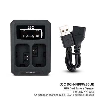 $ CDN16.32 • Buy USB Battery Charger Fits NP-FW50 For Sony A7 II A7R II A7S II A6100 A6500 A6400