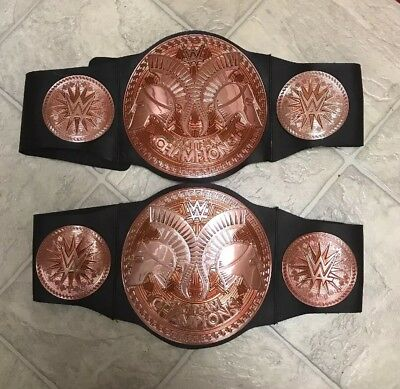 $38 • Buy (2) Lot WWE Tag Team Champions Belts Wrestling Kids Youth 38.5""