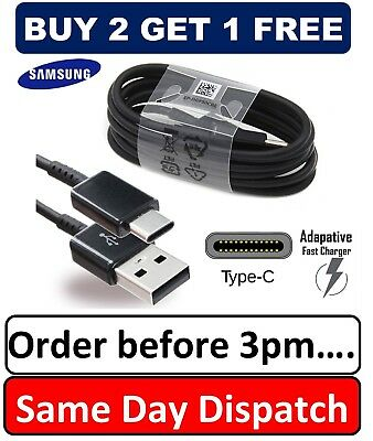 $ CDN3.86 • Buy Genuine Samsung Charger Cable For S8 S9 S8+ S9 S9+ A8 A9 Note 8 Note 9 A7 (2017)