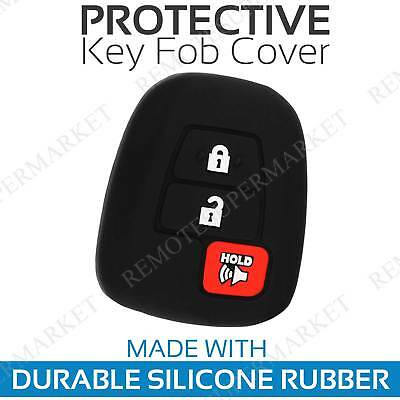 $ CDN6.91 • Buy Key Fob Cover For 2018 Toyota Tundra Remote Case Rubber Skin Jacket