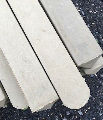 Concrete (Slotted) Reinforced 8ft Fence Posts • 7.20£