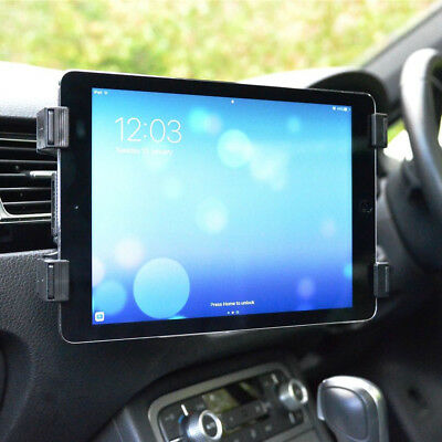 Universal In Car Tablet Holder Mount Air Vent Clip Cradle IPad Air Pro NR7 • 6.28£