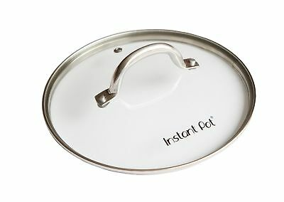 $11.99 • Buy Genuine Instant Pot Tempered Glass Lid Replacement 9 In. (23 Cm) 6 Quart Clear