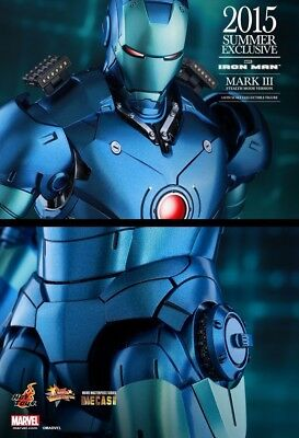 AU599 • Buy Diecast IRON MAN - Mark 3 Stealth Mode 1/6th Scale MMS314D12 Hot Toys