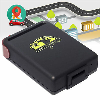 New Genuine TK102 GPS Tracker Car Vehicle Spy Mini Tracking Device SIM Supported • 19.89£