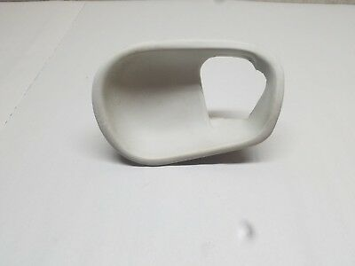 $15 • Buy 94-04 Mustang GT Cobra LH Driver Door Panel Handle Bezel White 96 97 98 99 00 01