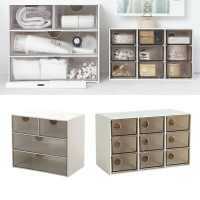£12.65 • Buy Desk Organizer Drawer Storage Box For Jewelry Pen Pencil Cell Phone Cards