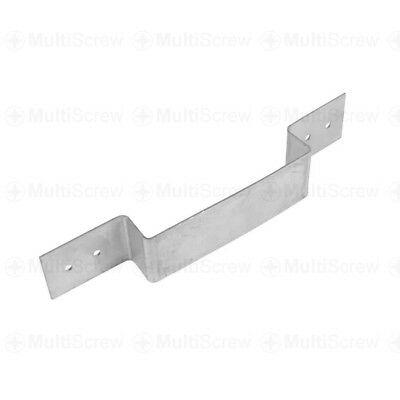 Fence Panel Security Bracket Anti Rattle Concrete Wooden Fence Post Galvanised • 10.99£