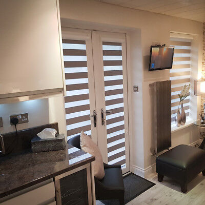 UNIQUE - PERFECT FIT - DAY & NIGHT BLINDS - Patio Doors- French Doors Only!  • 104.80£