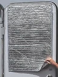 $21.01 • Buy Camco RV 45167 Reflective Door Window Cover - Solar Door Shade