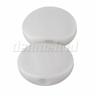 $ CDN10.05 • Buy White Ukulele Guitar Tuner Acrylic Oval Tuning Key Buttons Replacement Pack Of 6