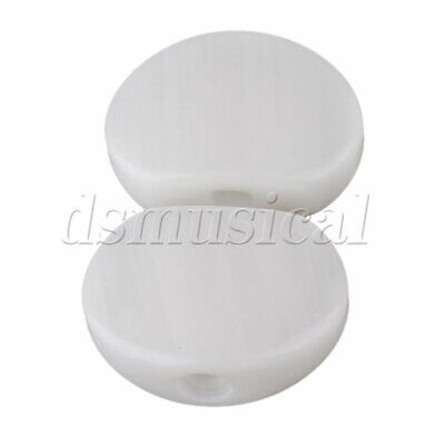 $ CDN10.86 • Buy White Ukulele Guitar Tuner Acrylic Oval Tuning Key Buttons Replacement Pack Of 6