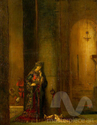 $46.53 • Buy Salome At The Prison By Gustave Moreau Premium Giclee Print