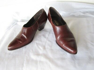 $14.99 • Buy Women's Amanda Smith Brown Leather Boot Shoes Size 6.5 M Clarence Brazil