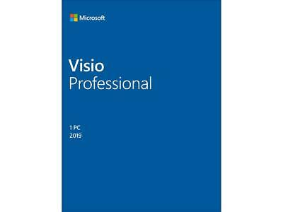 $ CDN659.99 • Buy Microsoft Visio Professional 2019 / Windows 10 Product Key Card - 1 PC