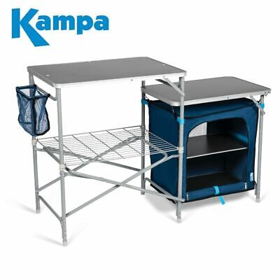 £65.95 • Buy Kampa Commander Field Fold-Up Kitchen Unit Camping, Tents, Awnings