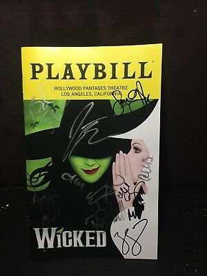 Wicked Signed Playbill Jackie Burns With Proof • 56.97£