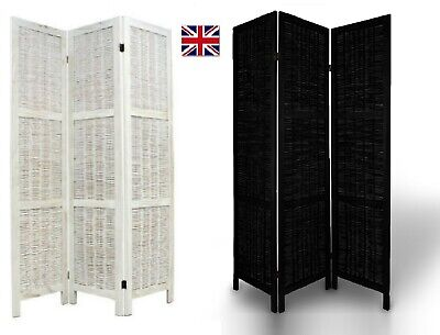 £44.79 • Buy Room Divider,Privacy Screen/Separator/Partition, Wooden Folding Frame, 3 Panel B