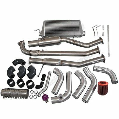 $ CDN1673.26 • Buy CXRacing Intercooler Kit 2JZ-GTE 2JZ Engine Swap Kit For Nissan 240SX S13 S14