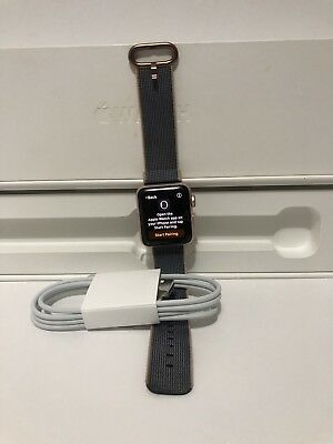 $ CDN262.32 • Buy Apple Watch Series 2 38mm  Case Rose Gold Aluminum Used The Screen Is Broken