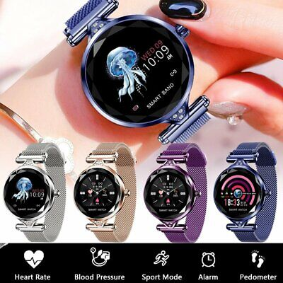 AU69.57 • Buy NEW Fashion Women Lady Smart Watch Heart Rate Fitness Tracker For IOS Android AU