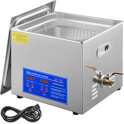 AU429.96 • Buy 15L Ultrasonic Digital Cleaners Cleaning Equipment Industry Heater W/Timer