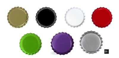 £3.57 • Buy Beer Bottle CROWNS CAPS 26mm Mix EXCELLENT SEAL QUALITY Home Brew FREE DELIVERY