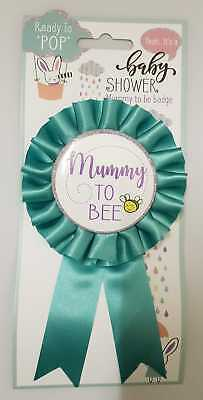 £0.99 • Buy *BABY SHOWER*  Mummy To Bee  Badge. Ready To Pop!