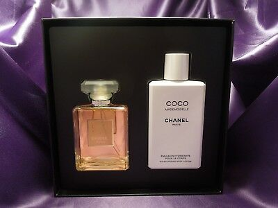 Chanel Coco Mademoiselle Coffret Signature Box - Vaporization Spray & Lotion  • 165$