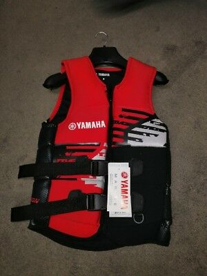 AU118.99 • Buy YAMAHA LIFE JACKET PFD 50S Red Neo PFD-16MNE-RD-SM