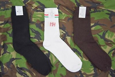 $10.30 • Buy 2 X Pairs NEW Hungarian Military Socks 3 Colours Army Boot Sock Comfortable