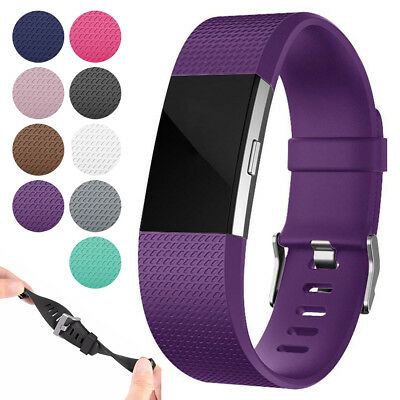 $ CDN5.93 • Buy For Fitbit Charge 2 / 2 HR Replacement Silicone Bracelet Wrist Watch Band Strap