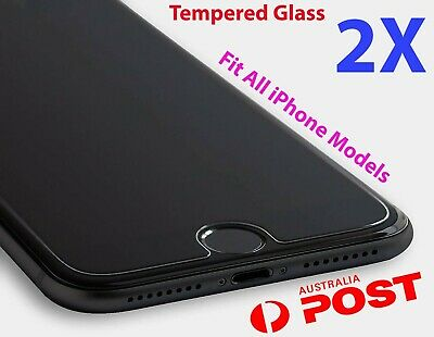AU3.95 • Buy 2X IPhone 8 8 Plus 7 6 6s 11 PRO Max XR X XS Tempered Glass Screen Protector W76