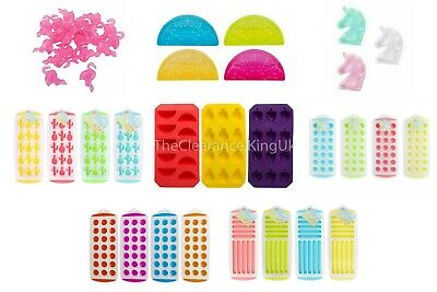 £1.99 • Buy Easy Pop Out ICE CUBE TRAY 21 Round Slots Silicone Mould Jelly Shots/Chocolate