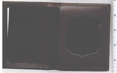 £15.94 • Buy New York City Corrections Recessed Badge Cut-Out & ID Medium Money Book Wallet