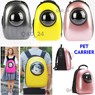 £15.95 • Buy Pet Carrier Backpack Capsule Travel Dog Cat Bag Small Large Breathable Astronaut