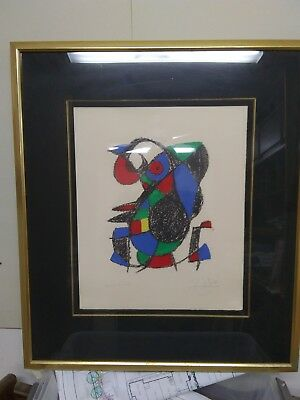 £1239.42 • Buy Joan Miro Lithograph Hand Signed