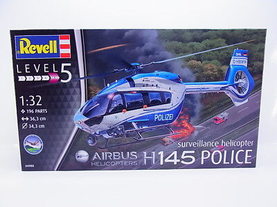 LOT 49161 | Revell 04980 Airbus Helicopters H 145 Police 1:32 Bausatz NEU In OVP • 25.81£